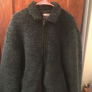 Borg Bomber Jacket